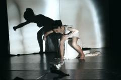 """""""100M"""", performance de Sandrine Lascaux et Guillaume Gargaud"""