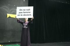 """""""Une femme n'est pas une femme"""", performance de Pascal Lièvre"""