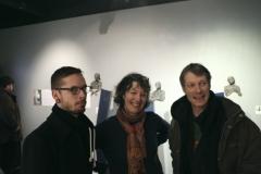 Arnaud Caquelard, Pat Uttley et Yves Bodiou